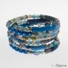 Deja vu Necklace, bracelets, Bx 2