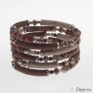 Deja vu Necklace, bracelets, Bx 3