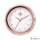 Deja vu Uhr, Uhren, C 126, rosé, poliert