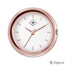 Deja vu watch, watches, C 126, ros�, polished