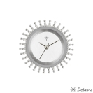 Deja vu watch, jewelry discs, stainless steel, E 164