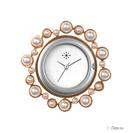 Deja vu watch, jewelry discs, stainless steel, Ee 86