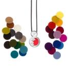 Deja vu watch, accessories, felt necklace, Fk 2