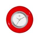 Deja vu watch, jewelry discs, glaze, Gl 4, red