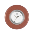 Deja vu watch, jewelry discs, glaze, GL 84, salmon brown