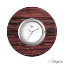 Deja vu watch, jewelry discs, wood, Hp 2 d