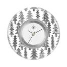 Deja vu watch, jewelry discs, acryl, printed, black-grey-colorful, L 1023
