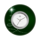 Deja vu watch, jewelry discs, acryl, printed, green-yellow, L 1028