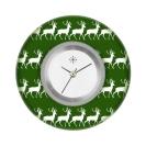 Deja vu watch, jewelry discs, acryl, printed, green-yellow, L 1029