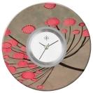 Deja vu watch, jewelry discs, acryl, printed, purple-pink, L 124-3
