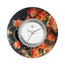 Deja vu watch, jewelry discs, acryl, printed, red-orange, L 247