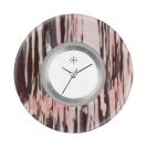 Deja vu watch, jewelry discs, acryl, printed, purple-pink, L 4014