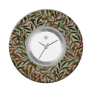 Deja vu watch, jewelry discs, acryl, printed, green-yellow, L 4079
