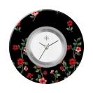 Deja vu watch, jewelry discs, acryl, printed, black-grey-colorful, L 4082