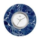 Deja vu watch, jewelry discs, acryl, printed, blue-turquoise, L 4101