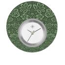 Deja vu watch, jewelry discs, acryl, printed, green-yellow, L 5053