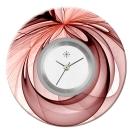Deja vu watch, jewelry discs, acryl, printed, purple-pink, L 7018