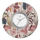 Deja vu watch, jewelry discs, acryl, printed, purple-pink, L 7032