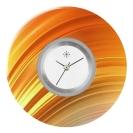 Deja vu watch, jewelry discs, acryl, printed, red-orange, L 7048