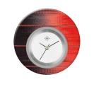Deja vu watch, jewelry discs, acryl, printed, red-orange, L 9001