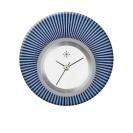 Deja vu watch, jewelry discs, acryl, printed, blue-turquoise, L 9014