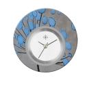 Deja vu watch, jewelry discs, acryl, printed, blue-turquoise, L 9016