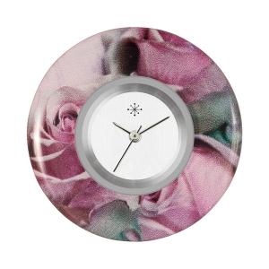 Deja Vu - Acryl Schmuckscheiben (bedruckt, lila-rosa-nude)