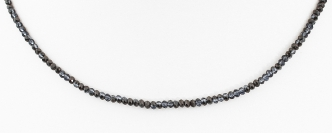 Deja vu Necklace, N 280-2, black blue
