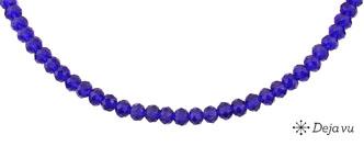 Deja vu Necklace, N 292-1, navy blue