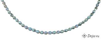 Deja vu Necklace, N 316-2, turquoise