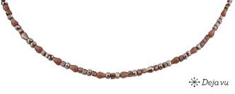 Deja vu Necklace, N 706-3, antique pink