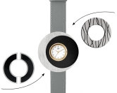 Deja vu watch, mono sets, watch C 112, Set 1070 c 112