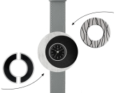 Deja vu watch, mono sets, watch C 206, Set 1070 c 206