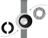 Deja vu watch, mono sets, watch C 207, Set 1070 c 207