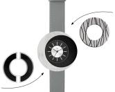 Deja vu watch, mono sets, watch CG 106, Set 1070-CG106