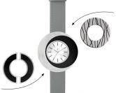 Deja vu watch, mono sets, watch CG 202, Set 1070-CG202