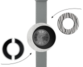 Deja vu watch, mono sets, watch CG 229, Set 1070-CG229