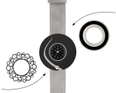 Deja vu watch, mono sets, watch C 206, Set 1103-C206