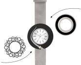 Deja vu watch, mono sets, watch CG 202, Set 1103-CG202