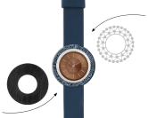 Deja vu watch, mono sets, watch CG 130b, Set 1112-CG130b
