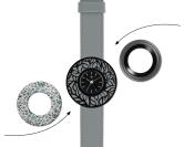 Deja vu watch, mono sets, watch C 218, Set 1115-C218