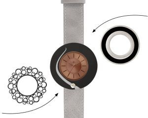 Deja vu watch, mono sets, watch CG 128, Set 1103-CG128