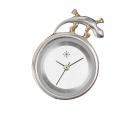 Deja vu watch, jewelry discs, silver, Si 9
