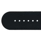 Deja vu watch, watch straps, XL watch straps, Ub 4 XL, black