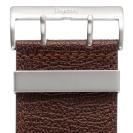 Deja vu watch, watch straps, wide, 40mm, steel closure, Ubb 201, brown rustic