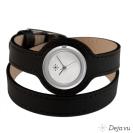 Deja vu watch, watch straps, wrap straps, Udl 4, black