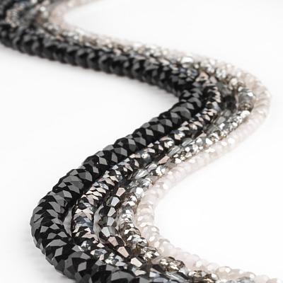schwarz-grau-silber
