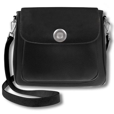 leather, black